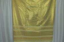 Buy Thai Tradition Cream Synthetic Silk Fabric For Top Skirt Wedding dress E13