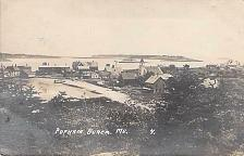 Buy Popham Beach, ME Real Photo RPPC Vintage Postcard
