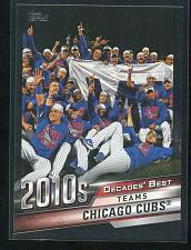 Buy 2020 TOPPS DECADES BEST BLACK CHICAGO CUBS, DB-83, 170/299