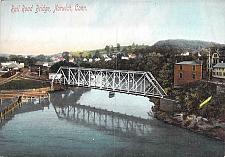 Buy Railroad Bridge, Norwich, Conn. Vintage Postcard