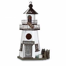 Buy 30208U - Nautical Nest Lighthouse Decorative Wood Birdhouse
