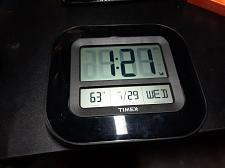 Buy Timex 75322T Atomic Clock with Date, Day of Week and Indoor Temperature