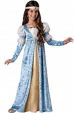 Buy NEW Incharacter Renaissance Maiden Girl's Costume #17057 Girls Size 12 Blue/Gold