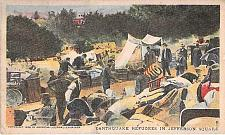 Buy San Francisco Earthquake of 1906 Refugees in Jefferson Square Unused Postcard