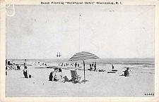 "Buy Beach Fronting ""Rockhaven Hotel"", Weekapaug, R.I. Vintage Postcard"