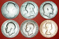 Buy § PORTRAITS OF RULERS: UNITED KINGDOM ★ 1 PENNY 1889-1965! LOW START★NO RESERVE!