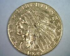 Buy 1925-D 2 1/2 DOLLAR INDIAN HEAD GOLD CHOICE ABOUT UNCIRCULATED++ CH AU++ORIGINAL
