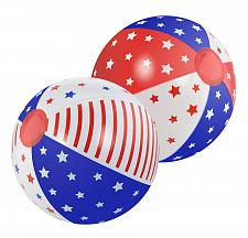 "Buy :10712U - Patriotic 10"" Diameter Beach Ball Set Of 2"