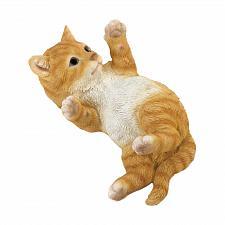 Buy *18804U - Playful Kitty Cat On Back Paws Figurine