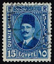 Buy Egypt #139 King Fuad; Used (0.25) (4Stars) |EGY0139-03XBC
