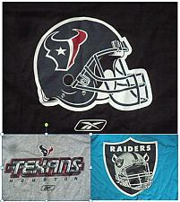Buy NFL FOOTBALL T-SHIRT HOUSTON TEXANS-BLACK, TEXANS-GREY, RAIDERS-BLUE, 1pc.each