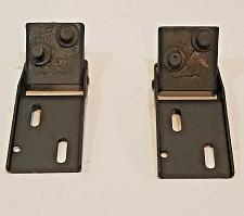Buy ALFA ROMEO SPIDER HOOD HINGE PAIR SET painted black NO RUST (#2)