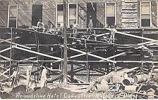 Buy Remodeling Hotel Covallis, McFadden Bldg. Real Photo Postcard RPPC