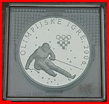 Buy ★ RARE ★ CROATIA ★ 150 KUNA 2006 ★ SKI! SILVER PROOF! LOW START★NO RESERVE!