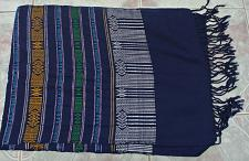 Buy Laotian Jok Sabai Cotton Fabric Thai Lao Laos Textile Wrap Scarf Shawl SC61