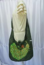 Buy Thai Hemp woven fabric Peacock Embroidery Sling Cross body Bag Handbag BS-035