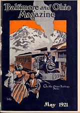 Buy Baltimore & Ohio Railroad Magazine Historical 167 Issues Free Shipping
