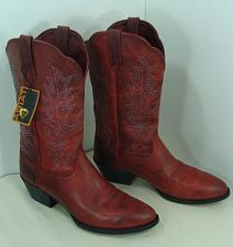 Buy New Ariat Mens Sedona Leather Cowboy Boots Size 9.5B Distressed Brown