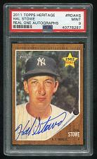 Buy 2011 TOPPS HERITAGE REAL ONE AUTO HAL STOWE, PSA 9 MINT (40778287)