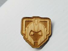 Buy Laser Engraved Cyberman Hat Pin