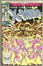 Buy Uncanny X-men #226 1st Print & Series NM- 1987 Double-Sized FALL OF THE MUTANTS