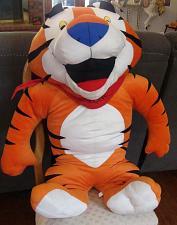 "Buy Huge Rare 36"" Tony the Tiger Plush Cuddly Stuffed Animal Basco Inc."