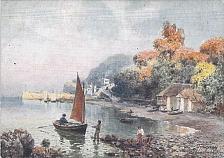 Buy Tuck's Torquay, Babbacombe Bay Art Vintage Postcard