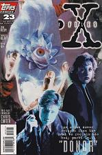 Buy Comic Book The X-Files #23 Topps 1996