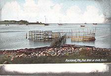 Buy Rockland, ME, Fish Weir at Owls Head Vintage Postcard