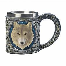 Buy *17863U - Timber Wolf Stainless Steel Drinking Mug
