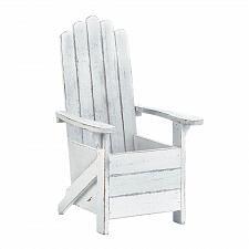Buy *18012U - White Fir Wood Adirondack Chair Planter Pot Holder