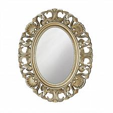 "Buy *18872U - Golden Scallop 21"" Oval Wall Mirror"
