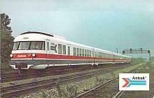 Buy AmtraK's French Turbine Train Unused Vintage Postcard