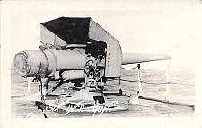 Buy US Navy Six Inch Gun Circa 1920 Real Photo Vintage Postcard