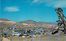 Buy Randsburg California View from Yellow Aster Mine Vintage Postcard