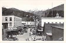 Buy Mission St. from Streamers Bridge, Ketchikan, AK Real Photo Vintage Postcard