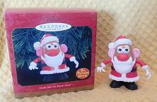 Buy Hallmark North Pole Mr. Potato Head Christmas Ornament Santa Mr Potato Head!