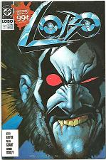 Buy LOBO #1 VF Keith GIFFIN, GRANT, BISLEY DC Comic Book 1990