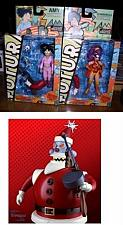 Buy Futurama Amy & Clobberella Santa Robot build a bot parts 2 Action Figure