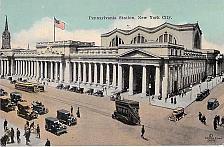 Buy Pennsylvania Railroad Station, New York City Vintage Postcard