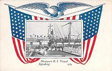 Buy US Navy, Newport, R.I. Visual Signaling Training Vintage Postcard