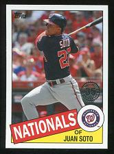 Buy 2020 TOPPS 1985 TOPPS 35TH ANNIVERSARY LOT OF 6 JUAN SOTO MIKE SOROKA