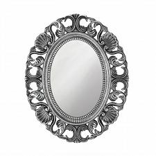 "Buy *18873U - Silver Scallop 21"" Oval Wall Mirror"