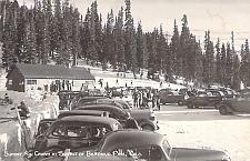 Buy Sunday Ski Crowd at Summit of Berthoud Pass Real Photo RPPC Vintage Postcard