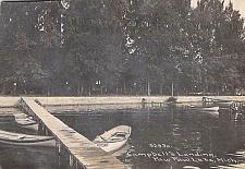 Buy Campbell's Landing, Paw Paw Lake, Michigan Vintage Postcard