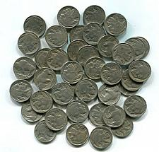 Buy BUFFALO NICKEL ROLL 1930-1937 FULL 40 PIECES GOOD AND BETTER NICE ORIGINAL COINS