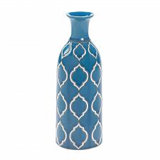 "Buy *16515U - Merit Pale Blue 10"" Stoneware Decorative Vase"