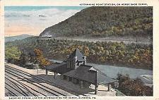 Buy Penna Limited Approaching Station, Horse Shoe Curve Altoona PA Vintage Postcard