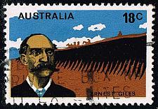 Buy Australia #633 Ernest Giles; Used (0.25) (3Stars) |AUS0633-02XBC