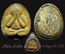 Buy 100% Genuine PHRA PIDTA LP TOH Closing Eye Buddha Thai Amulet Luck Rich Thailand